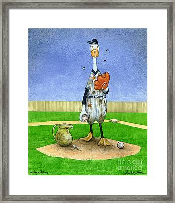 Dirty Pitchers... Framed Print by Will Bullas
