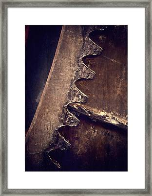 Dirty Work Framed Print by Odd Jeppesen