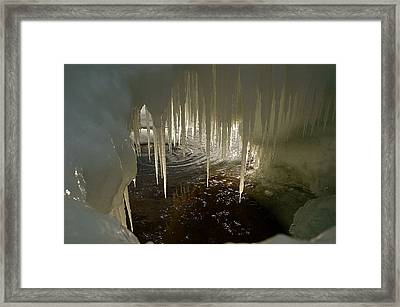 Discovering The Light Framed Print by Sandra Updyke
