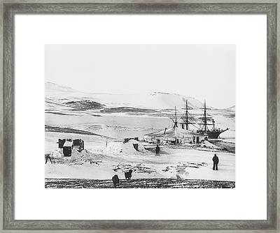 Discovery Antarctic Expedition Framed Print by Scott Polar Research Institute