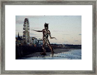 Discovery Framed Print by Anthony Bean