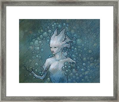 Disintegration Framed Print by Ethan Harris