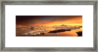 Disko Bay, Greenland Framed Print by Panoramic Images