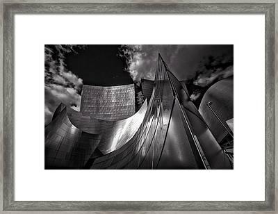 Disney Concert Hall Framed Print by Rick Smith