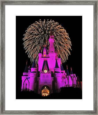 Disney Magic Framed Print by Benjamin Yeager
