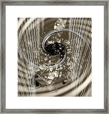 Disorder Upgrade Framed Print by Florin Birjoveanu