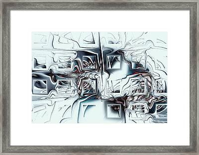 Disorganized Complexity Framed Print by Anastasiya Malakhova