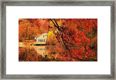 Display Of Beauty Framed Print by Lourry Legarde
