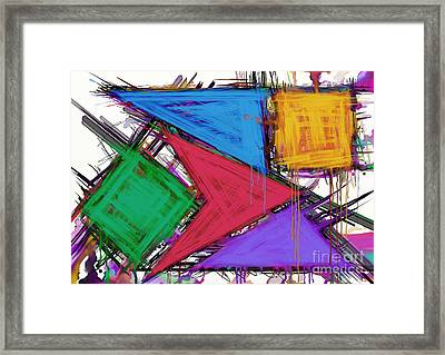 Disruptor Framed Print by Keith Mills