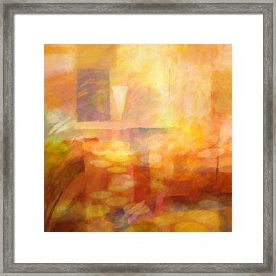 Distant Impressions Framed Print by Lutz Baar