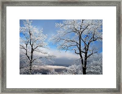 Distant Storms Framed Print by Lois Bryan