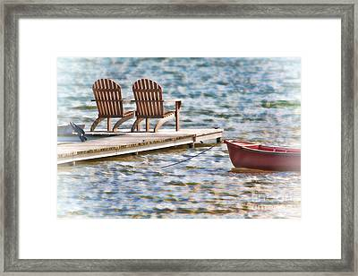 Distant Summer Framed Print by Cathy  Beharriell