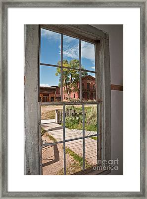 Distorted View Of The World Framed Print by Sue Smith