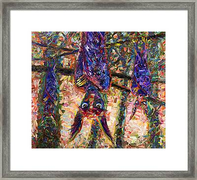 Disturbed Framed Print by James W Johnson