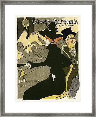 Divan Japonais Framed Print by Gianfranco Weiss