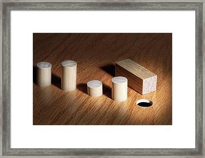 Diversity Concept Framed Print by Tom Mc Nemar
