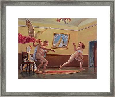 Divertimento Framed Print by Alfredo Arcia