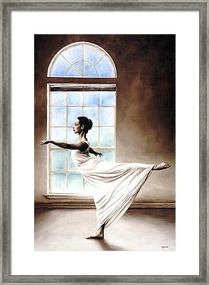 Divine Grace Framed Print by Richard Young