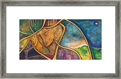 Divine Wisdom Framed Print by Shiloh Sophia McCloud
