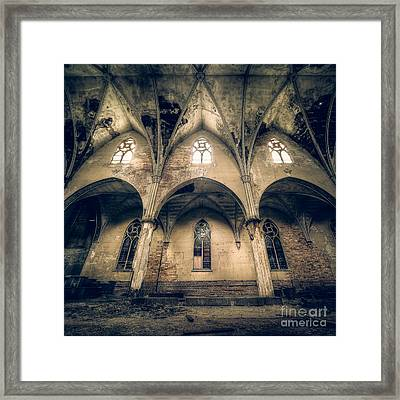 Divinity In Discord Framed Print by CM Goodenbury