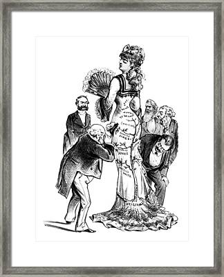 Divorced Woman, 1879 Framed Print by Granger