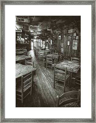 Dixie Chicken Interior Framed Print by Scott Norris