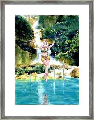 Djinn Framed Print by Ken Meyer jr
