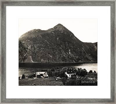 Djupfjord Norway Framed Print by Arne Hansen
