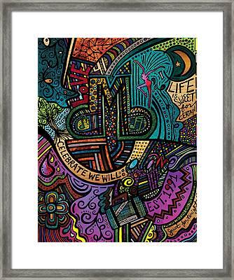 Dmb Love Framed Print by Kelly Maddern
