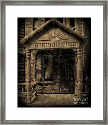 Do Not Enter Framed Print by John Malone