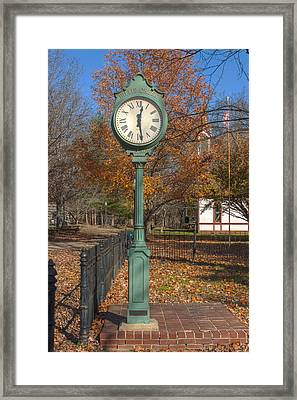 Do You Have The Time Framed Print by Thomas Sellberg