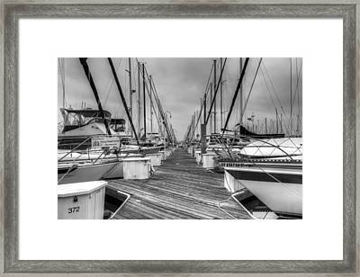 Dock Life Framed Print by Heidi Smith
