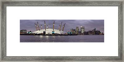 Docklands Framed Print by Richard Allen