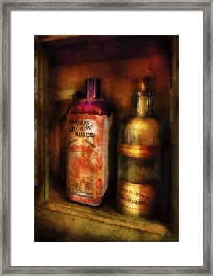 Doctor - Microbe Killer Framed Print by Mike Savad