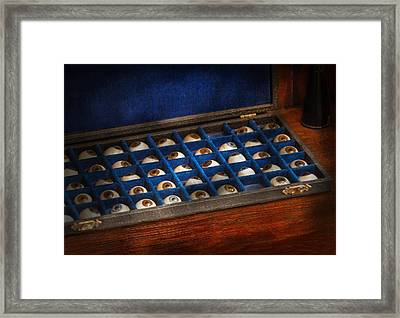 Doctor - Optometrist - I've Always Had Eyes For You Framed Print by Mike Savad