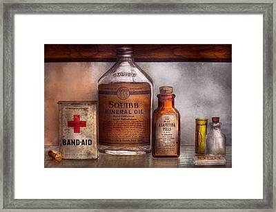 Doctor - Pharmacueticals  Framed Print by Mike Savad