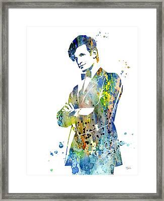 Doctor Who 2 Framed Print by Luke and Slavi