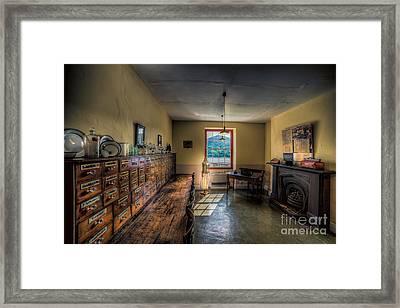 Doctors Office Framed Print by Adrian Evans
