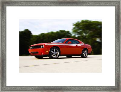 Dodge Challenger Framed Print by Bill Cannon