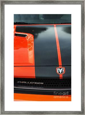 Dodge Challenger Framed Print by Tim Gainey