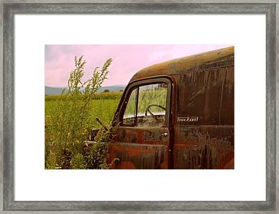 Dodge Framed Print by Jennie Kilcullen