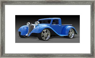 Dodge Pickup Framed Print by Mike McGlothlen
