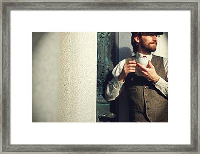 Does Your Watch Tell You What Year It Is Framed Print by Tracy  Tanner