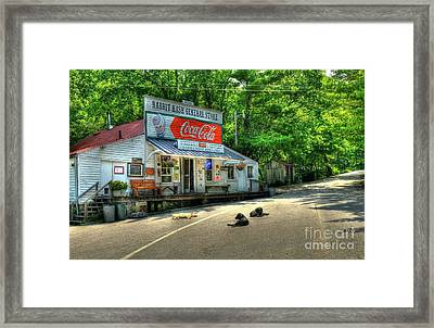Dog Day Afternoon Framed Print by Mel Steinhauer