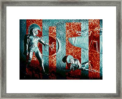 Dogs Of War At Troy Framed Print by Hartmut Jager
