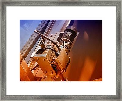 Doing Windows Framed Print by Wendy J St Christopher