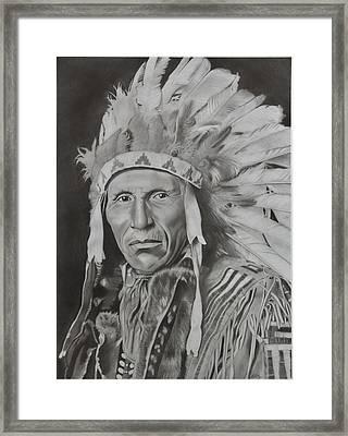 Dokata Chief Framed Print by Brian Broadway