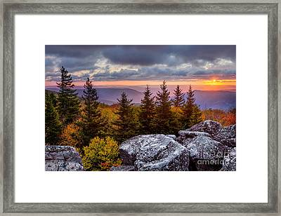 Dolly Sods Wilderness D80001273 Framed Print by Kevin Funk