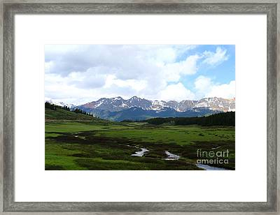 Dolores River  Framed Print by Christiane Schulze Art And Photography