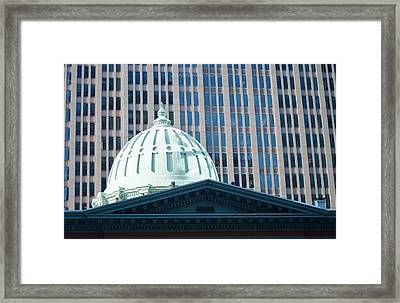Dome Of Art Museum  Framed Print by Sonali Gangane